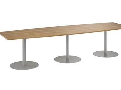 Rectangular meeting room table
