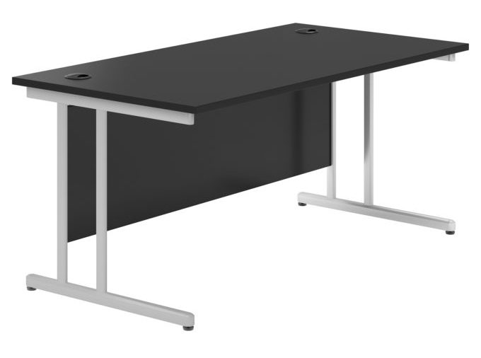Black Valoir Cantilever Gaming Desk