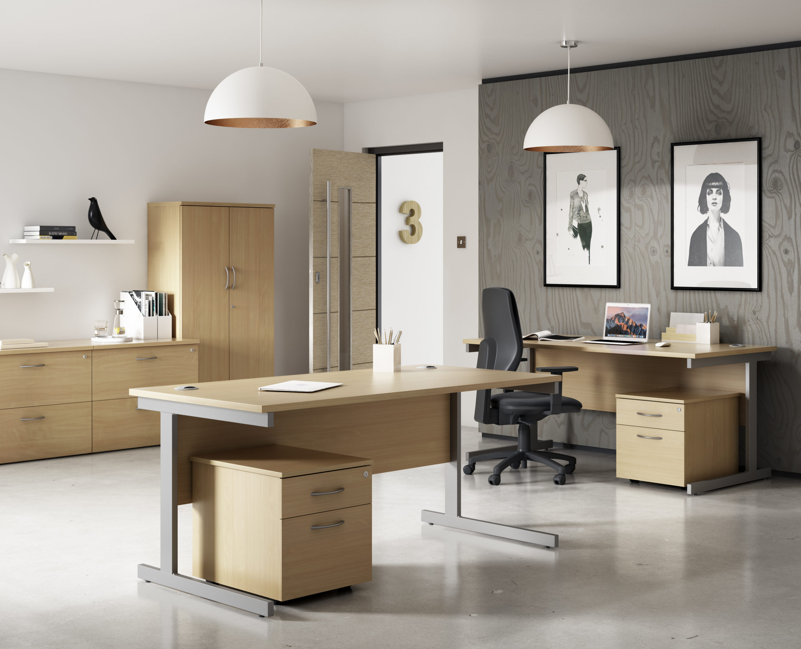 Woodgrain Office Furniture
